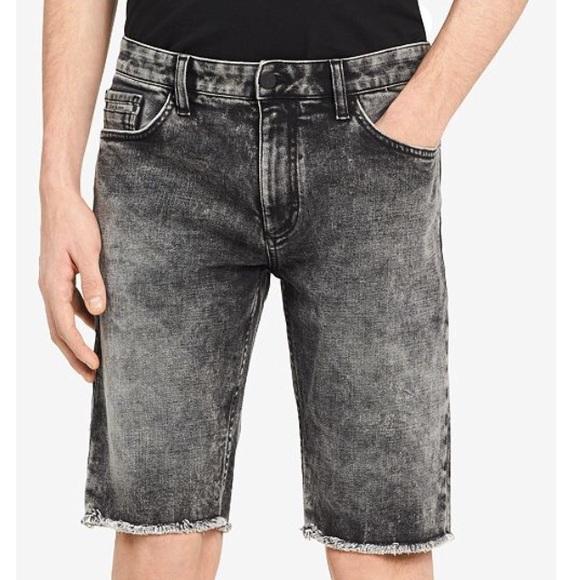 64cdf8a07c Calvin Klein Jeans Shorts | Nwt Calvin Klein Slim Fit Denim Black ...
